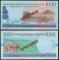 Rwanda 1000 francs 1998 UNC Specimen
