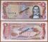 Dominican Republic 5 pesos 1981 UNC Specimen
