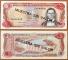 Dominican Republic 5 pesos 1988 aUNC/UNC Specimen