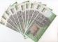 Cambodia 500 riels 1958-1970 aUNC 10 banknotes