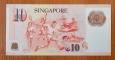 Singapore 10 dollars 2005 UNC P-48d