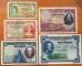 Spain 5 banknotes 1925 , 1928 , 1935 ( 5, 10, 25, 50, 100 pesetas