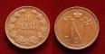 Finland 10 pennia 1915