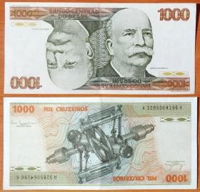 Бразилия 1000 крузейрос 1980 aUNC