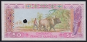 Guinea 50 francs 1985 aUNC Proof