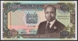 Kenia 200 shillings 1989 UNC