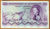 Seychelles 20 rupees 1968