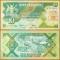 Uganda 10 shillings 1987 UNC