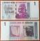Zimbabwe 1 dollar 2007 Radar 8149418