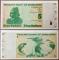 Zimbabwe 5 dollars 2009 Radar 1189811