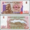 Zimbabwe 5 dollars 1997 UNC
