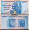 Zimbabwe 100 trillion dollars 2008 UNC