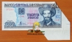 Cuba 20 pesos 2006 aUNC Butterfly