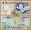 Eastern Caribbean 10 dollars 2008 aUNC/UNC