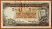 Australia 10 shillings 1954-1960 VF/XF