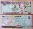 Fiji 5 dollars 2002