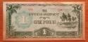 Oceania 1 pound 1942 XF