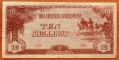 Oceania 10 shillings 1942