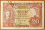 Malaya 20 cents 1941 VF