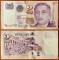 Singapore 2 dollars 2000 UNC