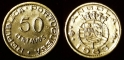 Angola 50 centavos 1953
