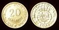 Mozambique 20 centavos 1961