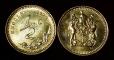 Rhodesia 1\2 cent 1975