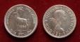 Rhodesia and Nyasaland 1 shilling 1956