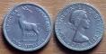 Rhodesia and Nyasaland 1 shilling 1956 VF/XF