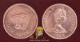 Seychelles 1 cent 1972 aUNC