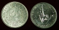 West African States 100 francs 1969