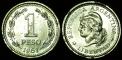 Argentina 1 peso 1961