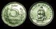 Argentina 5 pesos 1963 VF