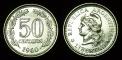 Argentina 50 centavos 1960