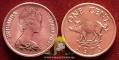 Bermuda 1 cent 1973 VF/XF