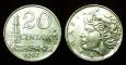 Brasil 20 centavos 1967