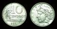 Brasil 10 centavos 1977