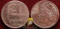 Brazil 20 centavos 1970 VF