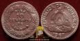Honduras 10 centavos 1967 F/VF