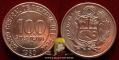 Peru 100 soles de oro 1980 VF/XF