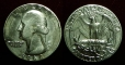 United States 25 cents (quarter) 1968
