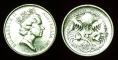 Australia 5 cents 1987