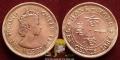 Hong Kong 10 cents 1964 F