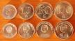DPRK 4 coins 2005 aUNC/UNC