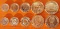 DPRK 5 coins 1959-1978 aUNC/UNC