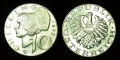 Austria 10 schilling 1977