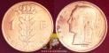 Belgium 1 Franc 1970 F