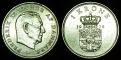 Denmark 1 krone 1972