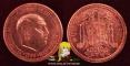 Spain 1 peseta 1962 VF