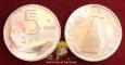 Italy 5 lire 1952 F